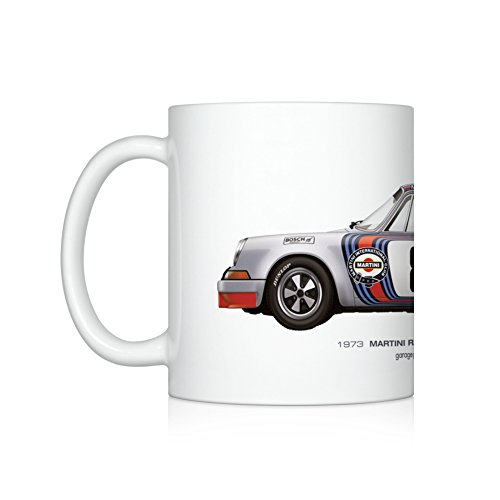 (GarageProject101 1973 Martini Racing (Targa Florio) illustration Coffee Mug)