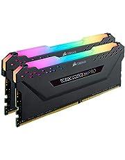 ذاكرة سطح المكتب 64 جيجابايت 2 جيجابايت من كورسير - DDR4 3200 (PC4-25600) C16 - أسود (CMW64GX4M2E3200C16)