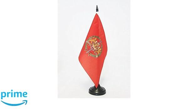 AZ FLAG Bandera de Mesa de la Provincia DE Valladolid 21x14cm ...