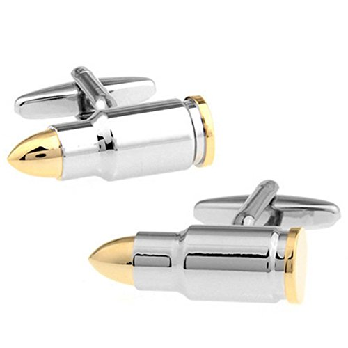 RXBC2011 Men's Bullet Style French Shirts Cufflinks 1 Pair Set by RXBC2011 (Image #7)