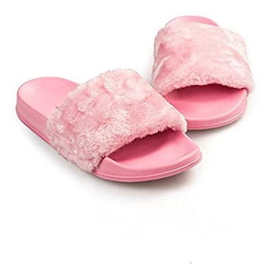 Matchstix fur slippers for girls  Buy Online at Low Prices in India -  Amazon.in 0ae0f0a52ff5