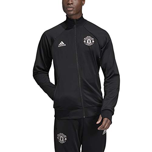 adidas Men's Manchester United Icons Track Top 2019-20 (Large) Black (Manchester United Best Goals)