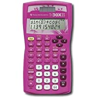 Texas Instruments, TI-30XIIS PINK, Dual Power Scientific Calculator, Pink
