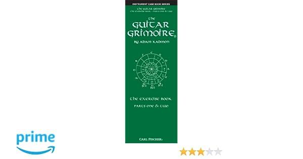 Amazon.com: GT109 - The Guitar Grimoire - The Exercise Book - Parts ...