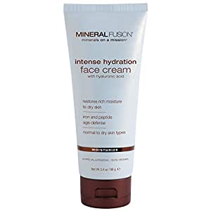Mineral Fusion Facial Moisturizer, Intense Hydration, 3.4 Ounce