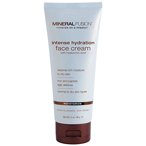Mineral Night Cream (Mineral Fusion Facial Moisturizer, Intense Hydration, 3.4 Ounce)
