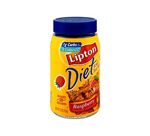 Lipton Beverage Iced Tea Mix Diet Raspberry - 6 Pack by Lipton