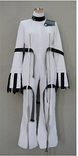 [Vicwin-one Code Geass C.c. White Cosplay Costume] (Cc Code Geass Costumes)