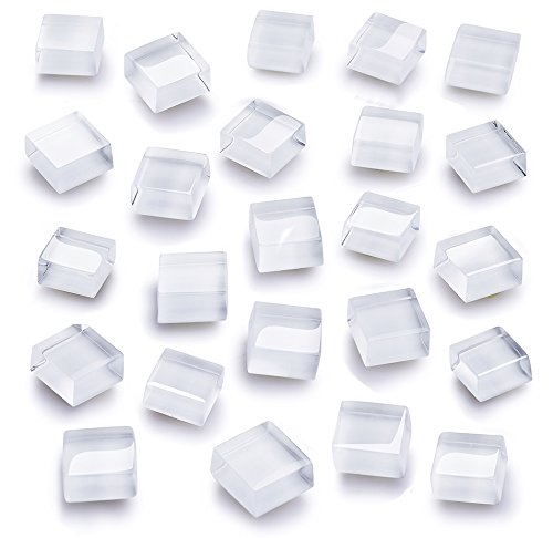 Fridge Magnets Cute Refrigerator Magnets Kitchen Magnets Decorative Office Magnets Fun Glass Magnets Whiteboard Dry Erase Board Magnets (24 White Glasses)