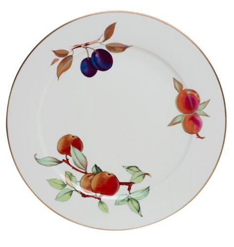 UPC 783931142963, Royal Worcester Evesham Gold Porcelain 12-Inch Service Plate