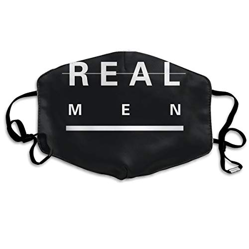 SDQQ6 Real Men Make Twins Dad Mouth Mask Unisex Printed Fashion Face Mask Anti-dust Masks]()