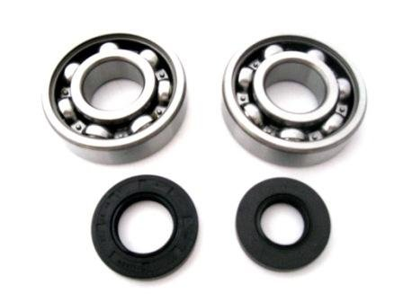 Main Crank Shaft Bearings and Seals Kit Kawasaki KX85 (Main Crank)