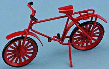 Dollhouse Red Bicycle (Dollhouse Bicycle)
