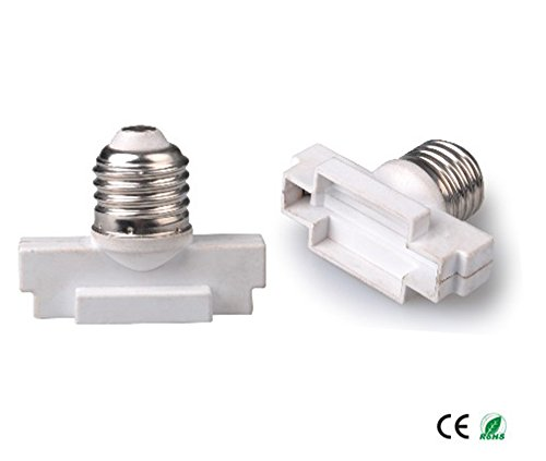 E-Simpo® 5-pack E27 to G53 Adapter,E27 to G53 Lamp Base Converter, Z1081