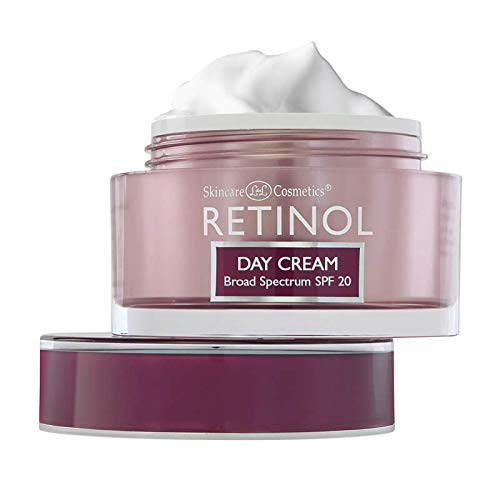 Retinol Anti-Aging Day Cream Broad Spectrum SPF 20-1.7 Oz.