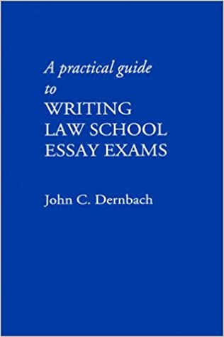a practical guide to writing law school essay exams john c  a practical guide to writing law school essay exams john c dernbach 9780837731278 com books