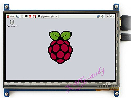 Capacitive Lcd (7inch HDMI LCD (C), HDMI interface Raspbian LCD 7 inch 1024*600 Capacitive Touch Screen mini PC Supports Raspberry Pi 3 2 1 Model B B+ A+ & BeagleBone Black & Banana Pi / Pro @XYGStudy)