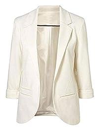 Imbry Women Boyfriend Blazers Cool Suit Fashion Casual Coat Jacket