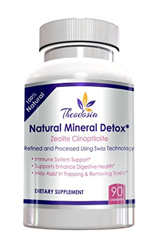 Cheap Zeolite Capsules – Natural Mineral Detox – Dietary Supplement 90-800mg 3 Month Supply