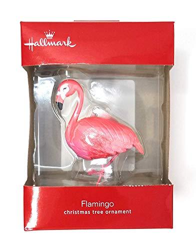 Hallmark Pink Flamingo Christmas Ornament 2018 Exclusive]()