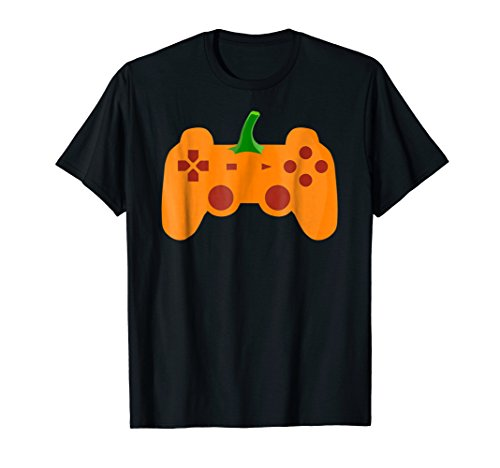 Halloween Video Game Pumpkin T-Shirt Funny Costume Gamer ()