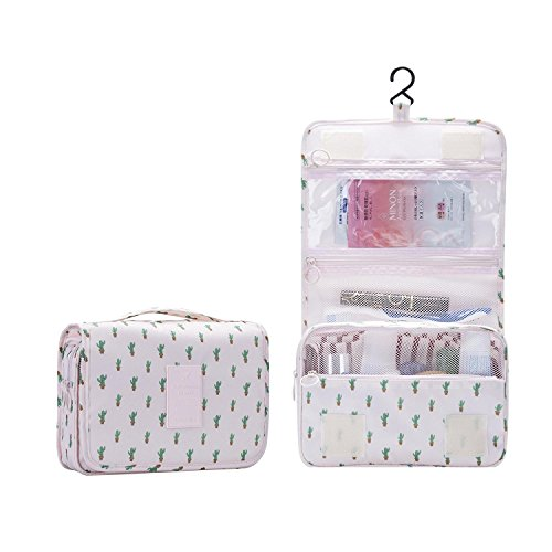 2017 New Bathroom Organizer Travel Nylon Portable Hanging Toiletry Cosmetic...