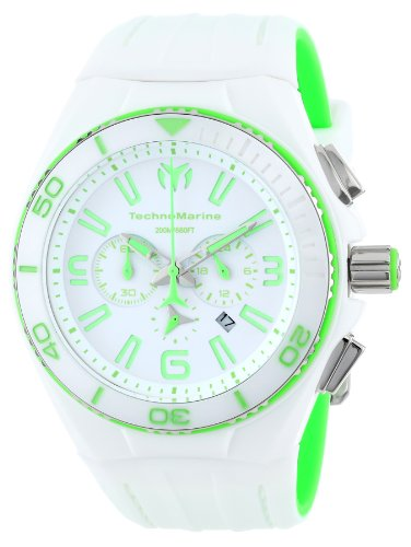 Technomarine Raft Watch - TechnoMarine Unisex 113013 Cruise White Vision II Watch