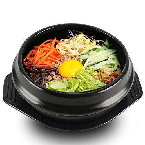 Korean DOLSOT Bowl Big Sized Earthenware Stone Pot for sale  Delivered anywhere in Canada