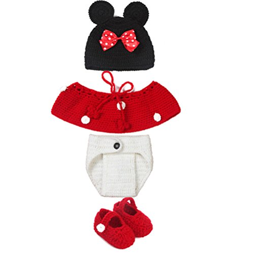 BlueTop(TM) Baby Infant Costume Photography Dogs Animal Cap 0-6 Months Newborn - Baby And Dog Costumes