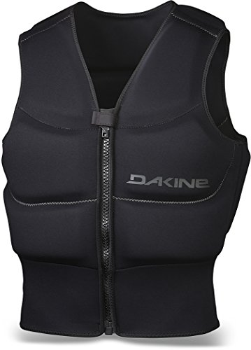 Dakine Unisex Surface Zip Sport Neoprene Vest L BLACK (Vest Sports Harness)