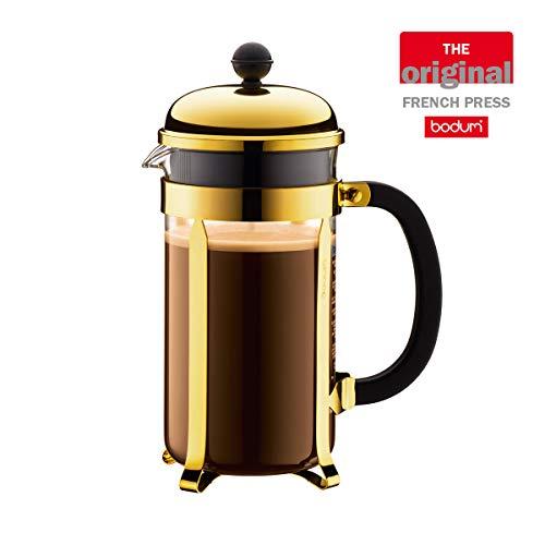 Bodum 1928-17 Chambord Coffee Maker, 34 Oz, Gold