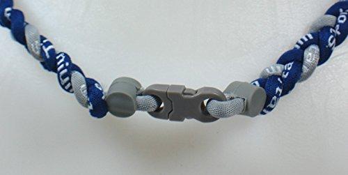 Sports Farm Custom Clasp Tornado Necklaces New! Youth Size Navy Blue Gray (Gray Clasp)