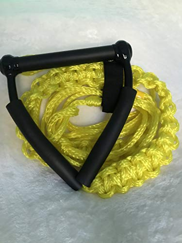 Tantrum Tow Ropes Wakesurf Rope Yellow