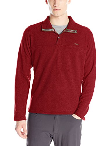 Mountain Khakis Men's Pop Top Pullover, Malbec, X-Large (Pop Top Jacket)
