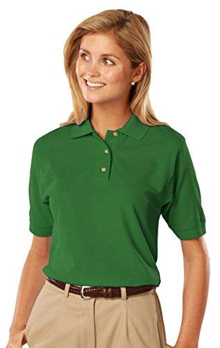 Blue Generation BG6201 -Short Sleeve Cotton Polos-Polo Shirts (2XL, Kelly)