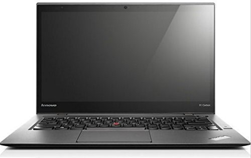 Lenovo 2nd Gen ThinkPad X1 Carbon 14in HD+ Laptop Computer, Intel Dual Core i7-4600U CPU up to 3.3GHz, 8GB RAM, 240GB SSD, HDMI, 802.11ac, Bluetooth, Windows 10 Professional (Renewed)