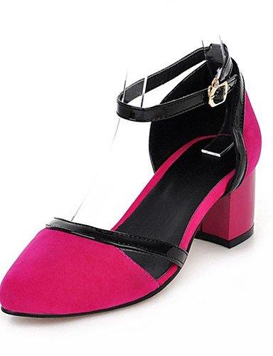 Y 10 Fiesta Eu41 Zq boda us8 Rosa tacones Pink Uk7 us9 De Mujer negro Vestido Casual Zapatos Red tacones 8 Personalizados 5 Rojo 5 materiales 5 tac¨®n Cn40 Cn42 Noche 5 Robusto Eu39 Uk6 Pn0P1Bx