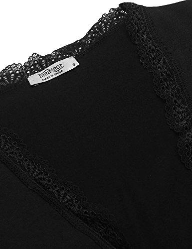 Style Noir 3 Meaneor Gilet Femme xq0AHXU