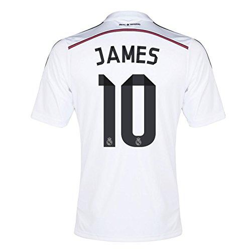 2014-15 Real Madrid Home Shirt (James 10)