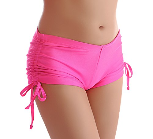Cloris Murphy Women's Adjustable Bottom Swimwear (M, Pink)