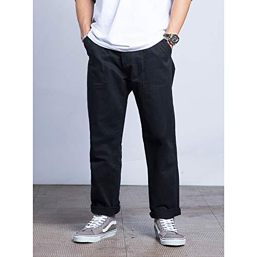 Black Nuovi Dritti Go Uomini Casuale Easy Degli Allentati Pantaloni Shopping Dell'attrezzatura Casuali qSHPfw