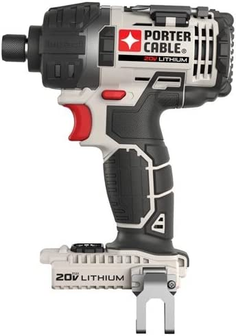 PORTER-CABLE 20V MAX Cordless Impact Driver, Tool Only PCC640B