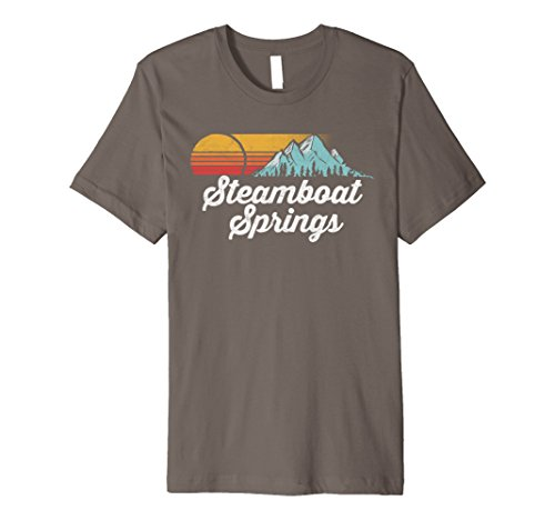 Vintage Steamboat Springs Colorado Retro  Mountains T-Shirt