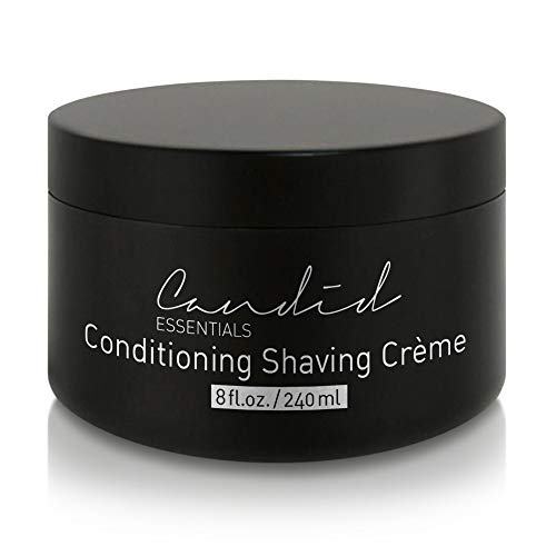 - Shaving Cream, Organic & Natural Luxury Crème, 8 fl oz/10 oz net wt, Sensitive Skin Formula, Thick & Rich Skin Care Shave Lotion with Oils, Vitamins & Antioxidants To Moisturize.