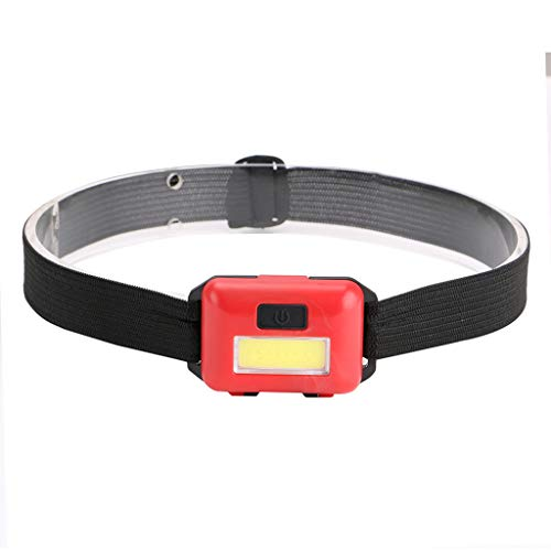 Price comparison product image MChoiceLED 3 Mode Headlamp AAA Headlight Adjustable Camping Torch Lamp Light (Red,  Batteries NOT Included)