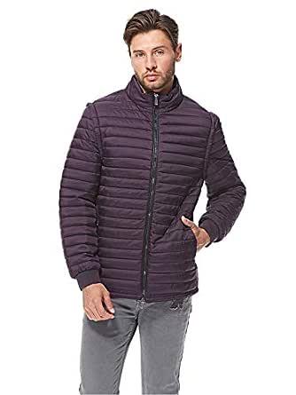 Pierre Cardin Puffer Jacket for Men - Purple