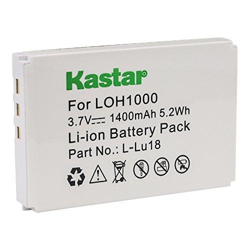 Kastar LOH1000 Battery Replacement for Logitech L-LU18, K398, 190582-0001, F12440056, Harmony 915, Harmony 1000, Harmony 1100, Harmony 1100i, Logitech Squeezebox Duet Controller