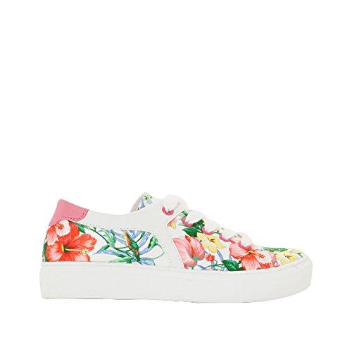 La Redoute Collections Flache Sneakers, geblumt Motiv Blumen