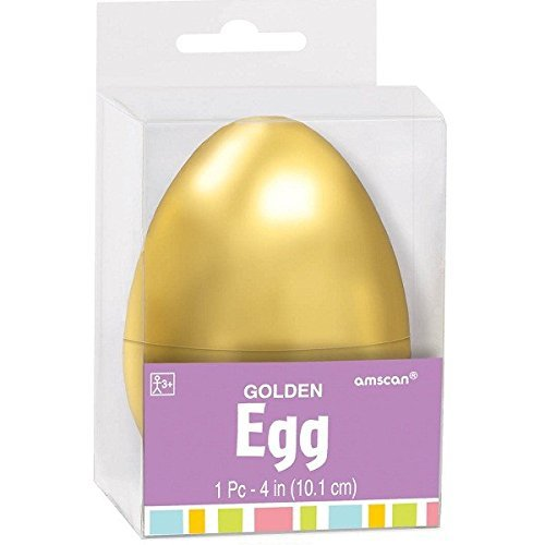 Golden Easter Egg Shell | Party Favor ()