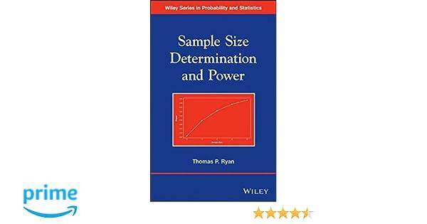 Sample size determination and power thomas p ryan 8601423389943 sample size determination and power thomas p ryan 8601423389943 amazon books fandeluxe Choice Image